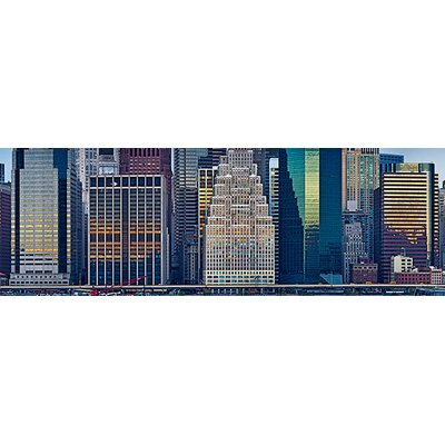 iCanvasArt Panoramic Skyscrapers in a City, New York City, New York State, 2011 Photographic Print on Canvas
