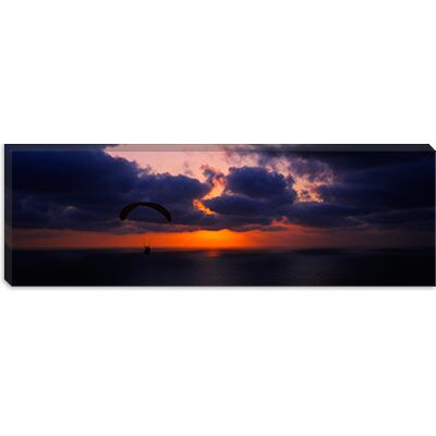 iCanvasArt Blacks Beach, San Diego, California Canvas Wall Art