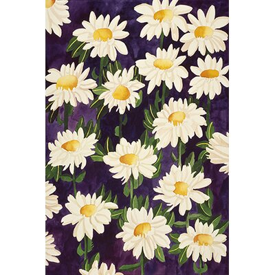 """iCanvasArt """"Shasta Daisies"""" Canvas Wall Art by Mary Russell"""
