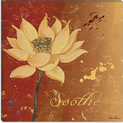 iCanvasArt Lotus III from Sybil Shane Studio Canvas Wall Art