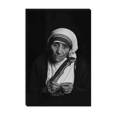 iCanvasArt Mother Teresa Photograph Photographic