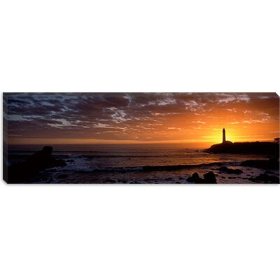 iCanvasArt Pigeon Point Lighthouse, San Mateo County, California Canvas Wall Art