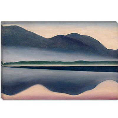 iCanvasArt Lake at Dawn Canvas Wall Art
