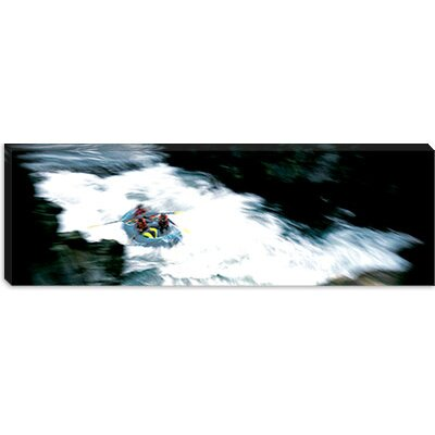 iCanvasArt Water Rafting Salmon River California Canvas Wall Art