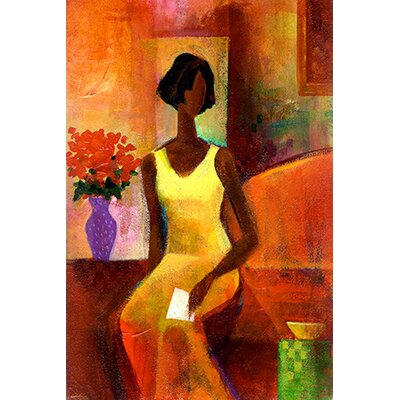 """iCanvasArt """"The Letter"""" Canvas Wall Art by Keith Mallett"""