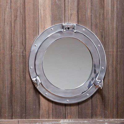 <strong>Cape Craftsmen</strong> Metal Porthole Mirror
