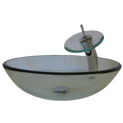 Glass Vessel Sink - NSFC-8048001BNC / NSFC-8048001CH