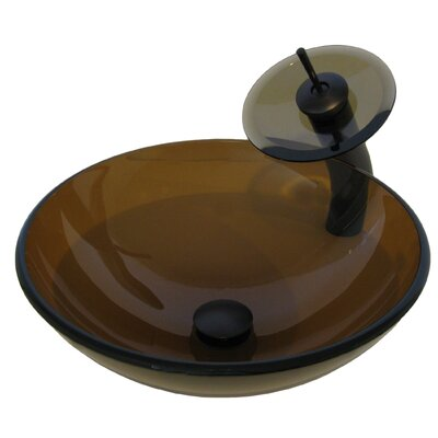 Glass Vessel Sink - NSFC-168T001ORB