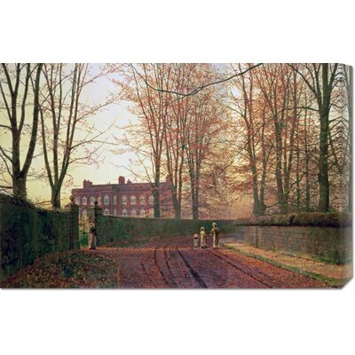 'Going to Church' by John Atkinson Grimshaw Painting Print on Canvas