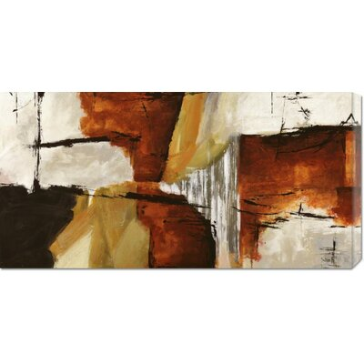 Global Gallery 'Of Wood and Stone' by Jim Stone Stretched Canvas Art