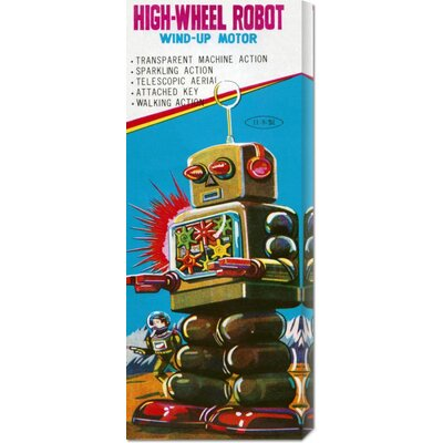 Bentley Global Arts 'High-Wheeled Robot' by Retrobot Stretched Canvas Art