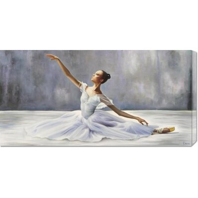 'Ballerina' by Pierre Benson Stretched Canvas Art