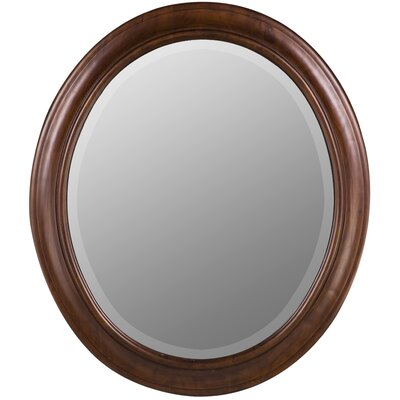 Cooper Classics Chelsea Oval Mirror in Vineyard Finish