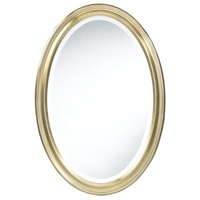 Blake Oval Wall Mirror in Antique Gold