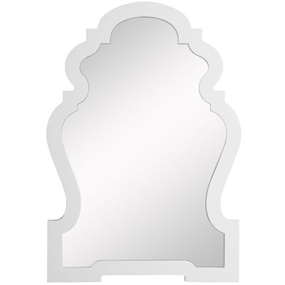 Lawson Wall Mirror in Glossy White