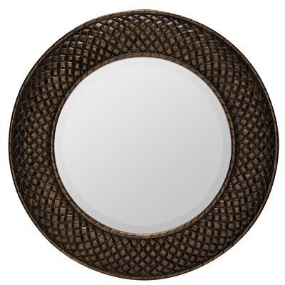 Hewitt Mirror in Aged Gold