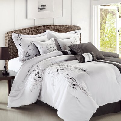 Arabesque 8 Piece Comforter Set