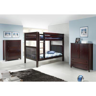 Camaflexi Full over Full Standard Bunk Bed