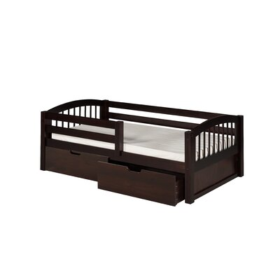 Camaflexi day bed with guard rail allmodern