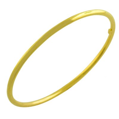 Polished Slip-on Bangle Bracelet