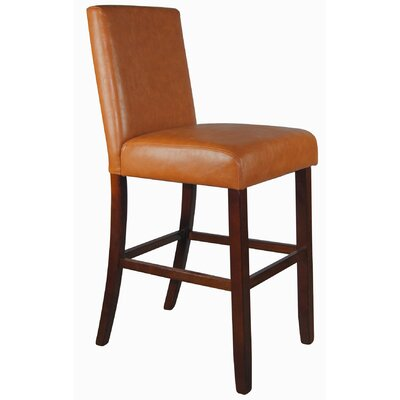 Luxury Faux Leather Barstool
