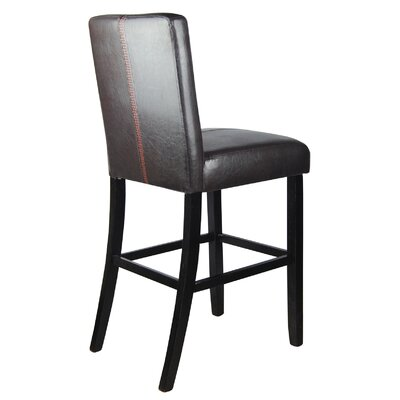 NOYA USA Luxury Faux Leather Barstool