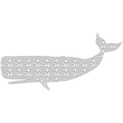 Nantucket Bound Whale Embroidered Sunbrella Fabric Beach Pillow