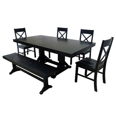 Home Loft Concept 6 Piece Dining Set