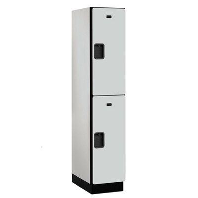 Salsbury Industries Extra Wide Designer Double Tier 1 Wide Locker
