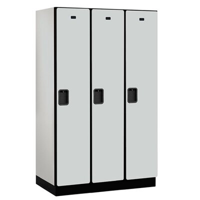 Salsbury Industries Extra Wide Designer Single Tier 3 Wide Locker