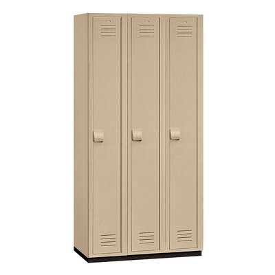 Salsbury Industries Single Tier 3 Wide Heavy Duty Locker