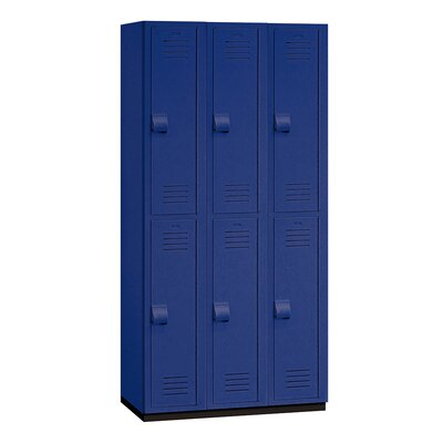 Salsbury Industries Double Tier 3 Wide Heavy Duty Locker