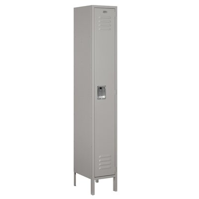 Salsbury Industries Unassembled Single Tier 1 Wide Standard Locker