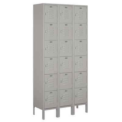 Salsbury Industries Unassembled Six Tier Box 3 Wide Standard Locker