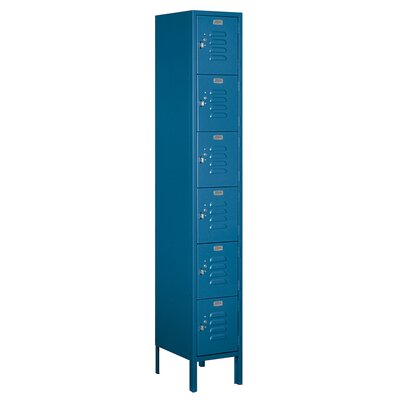 Salsbury Industries Unassembled Six Tier Box 1 Wide Standard Locker