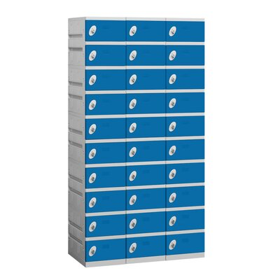 Salsbury Industries Unassembled Ten Tier 3 Wide Locker