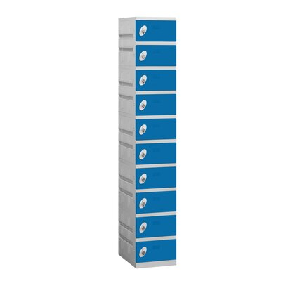 Salsbury Industries Assembled Ten Tier 1 Wide Locker