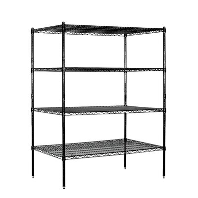 Salsbury Industries Wire Stationary 4 Shelf Shelving Unit Starter
