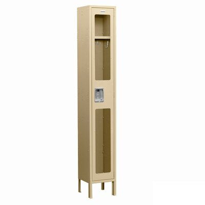 Salsbury Industries Unassembled See-Through Single Tier 1 Wide Locker