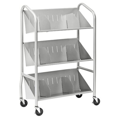 Buddy Products Sloped Shelf Cart