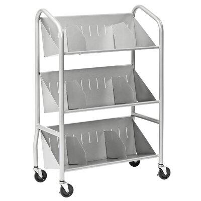 Buddy Products Sloped Shelf Cart
