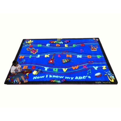 Kids World Rugs ABC Musical Song Kids Rug
