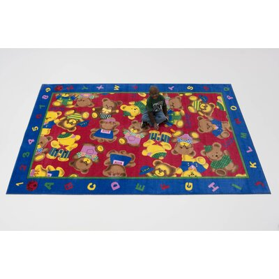 Kids World Rugs Love Bear Kids Rug
