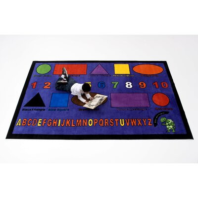 Kids World Rugs Charlie Shapes Kids Rug