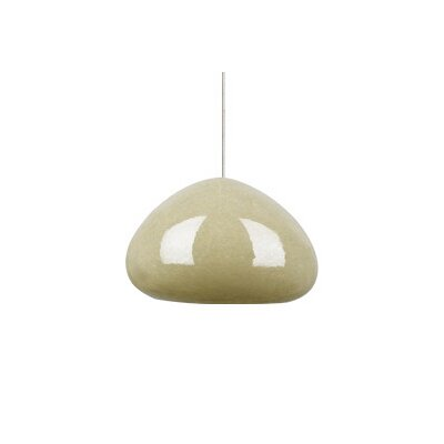 Tech Lighting River Rock 1 Light Soft Round Monopoint Pendant