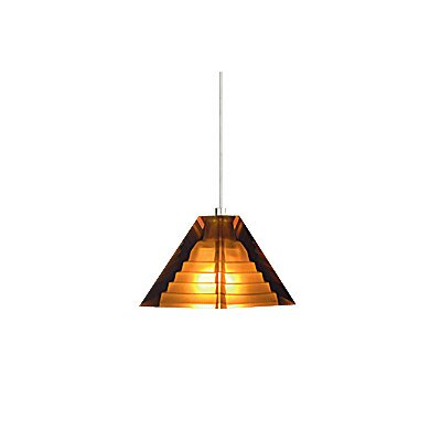 Tech Lighting Pyramid 1 Light Two-Circuit Monorail Pendant