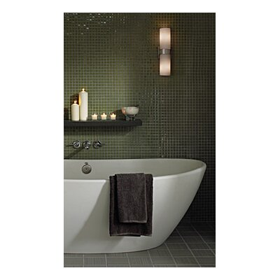 "Tech Lighting Hudson 4"" Two Light Bath Vanity"
