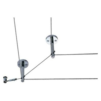 Tech Lighting Kable Lite Rigid Post Standoff / Standoff Turn in Chrome and Satin Nickel
