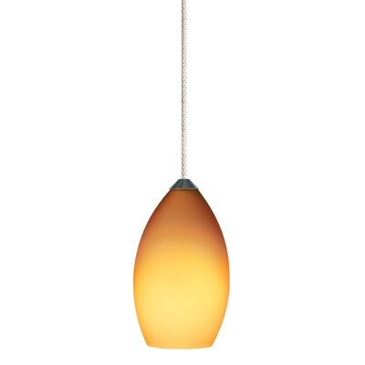 Tech Lighting 1 Light Raindrop Pendant