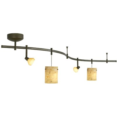 Tiella 4 Light Decorative Flexible Track Light